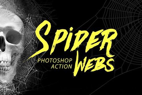 Creativemarket - Spider Webs Photoshop Action (2017).jpg